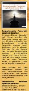 Frankfurter Stadtkurier zum Südtirol-Krimi